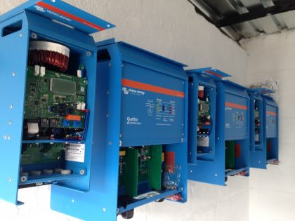 30KVA Victron Inverters and MPPT's